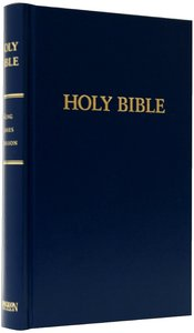 KJV Pew Bible Blue