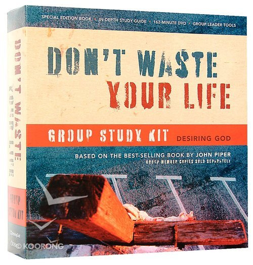 Buy Dont Waste Your Life Group Study Kit Desiring God By John