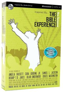 Inspired By... the Bible Experience New Testament on Audio CD (Unabridged 22 Hrs)