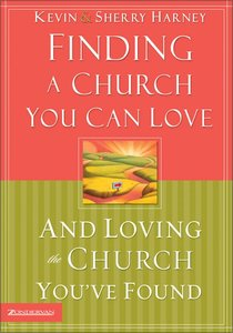 Finding a Church You Can Love