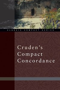 Crudens Compact Concordance (Kjv Based)