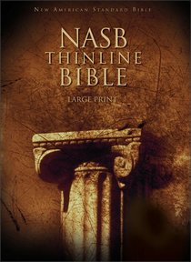 NASB Large Print Thinline Text Edition
