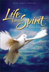 KJV Life in the Spirit Study Bible Navy