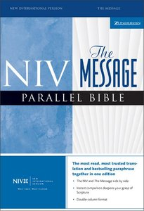 Niv/The Message Parallel Bible Navy