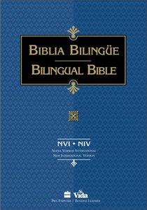 Nvi/Niv Biblia Bilingue Spanish Nvi/Niv Parallel Bible Black Indexed