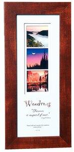 Stories Framed Plaque: Wondrous Job 37:14