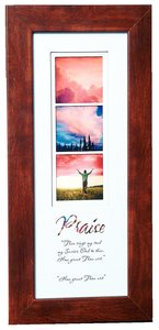 Stories Framed Plaque: Praise Then Sings My Soul
