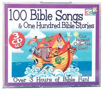 100 Bible Songs and 100 Bible Stories (3 Cd Set)