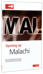 Malachi (Opening Up Series)