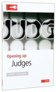 Judges (Opening Up Series)