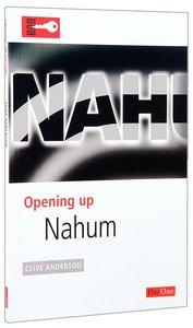 Nahum (Opening Up Series)