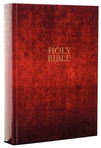NLT Holy Bible Giant Print Maroon Edition (Red Letter Edition)
