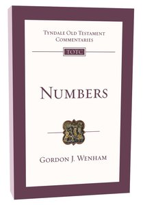 Numbers (Re-Formatted) (Tyndale Old Testament Commentary Re-issued/revised Series)