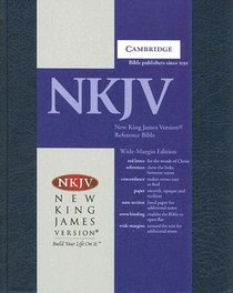 NKJV Wide Margin Reference (Red Letter Edition)