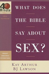 What the bible sys about sex