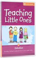 Teaching Little Ones #06: Salvation CDROM (5-8 Years) (#06 in Teaching Little Ones Sunday School Lessons Series)