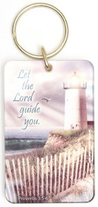 Acrylic Keyring: Let the Lord Guide You