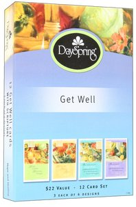 Boxed Cards Get Well: Hope and Healing