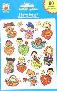 Sticker Pack: I Love Jesus!