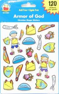 Sticker Pack: Armor of God