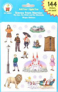 Sticker Pack: Scenes From Narnia - the Lion, the Witch and the Wardrobe