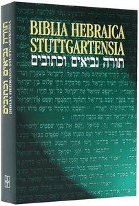 Biblia Hebraica Stuttgartensia (Hebrew Bible)