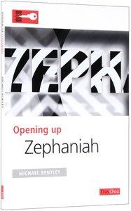 Zephaniah (Opening Up Series)