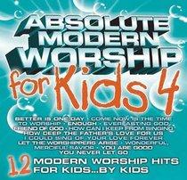 Absolute Modern Worship For Kids (Vol 4: Aqua)