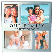 Photo Frame: Our Family 4 Multi Panel