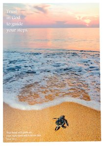 Poster Large: Trust in God to Guide Your Steps
