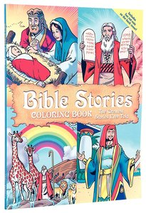 Bible Stories Colouring Book