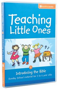 Teaching Little Ones #03: Introducing the Bible CDROM (3-5 Years) (#03 in Teaching Little Ones Sunday School Lessons Series)
