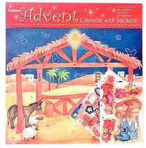 Advent Calendar: Nativity With Stickers
