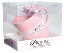 Ceramic Mug: Promises of Love (With Scripture Cards)