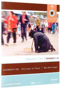 Season Two Episodes 1-13 (Leaders Guide) (Faith Cafe Series)