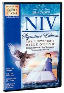NIV Listeners Bible on DVD (Signature Edition)