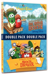 Tomato Sawyer/Lessons From the Sock Drawer (Veggie Tales Visual Double Feature Series)
