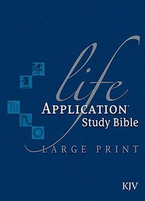 KJV Life Application Study Large Print (Red Letter Edition)