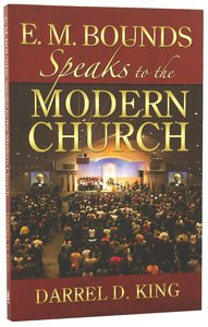 Bounds Speaks to the Modern Church