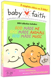 Box Set Volume 1 (3 DVDS) (Baby Faith Series)
