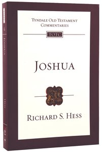 Joshua (Re-Formatted) (Tyndale Old Testament Commentary Re-issued/revised Series)