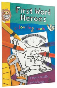 Colouring Book (First Word Heroes Series)