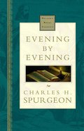 Evening By Evening (Nelsons Royal Classics Series)