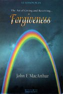 Forgiveness (Participants Guide) (Es Lesson Plan Series)