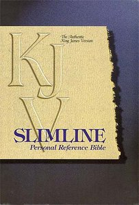 KJV Slimline Reference Blue Index