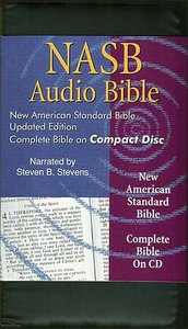 NASB Audio Bible Complete on CD Black Zipper Pack