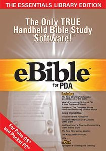 Ebible For Pda Essentials Library Palm / Pocketpc