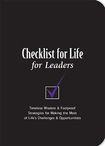 For Leaders (Checklist For Life Series)