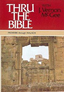 Proverbs-Malachi (Volume 3) (Thou The Bible Set Series)