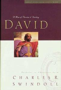 David: Man of Passion and Destiny (Large Print)